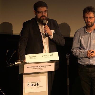 Lionel STAUB  et Gauthier JAMAIS