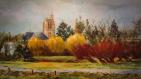 Exposition à Crecy-la-Chapelle - Les Saules du Pré Manche - Nicole BISSIERE