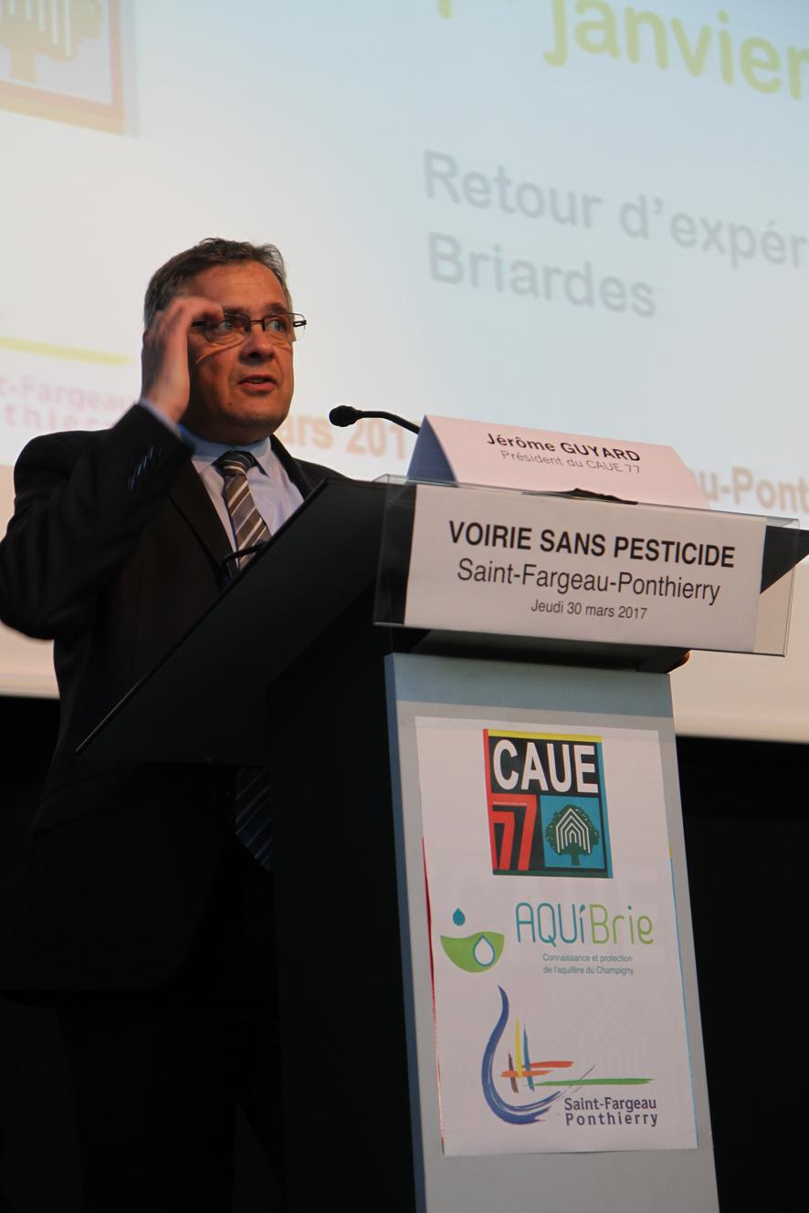Jérôme Guyard - Président du CAUE 77