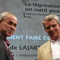 Arnaud de LAJARTRE et Augustin BONNARDOT