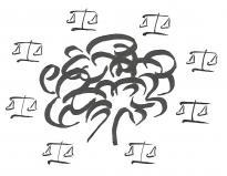Logo arbre loi